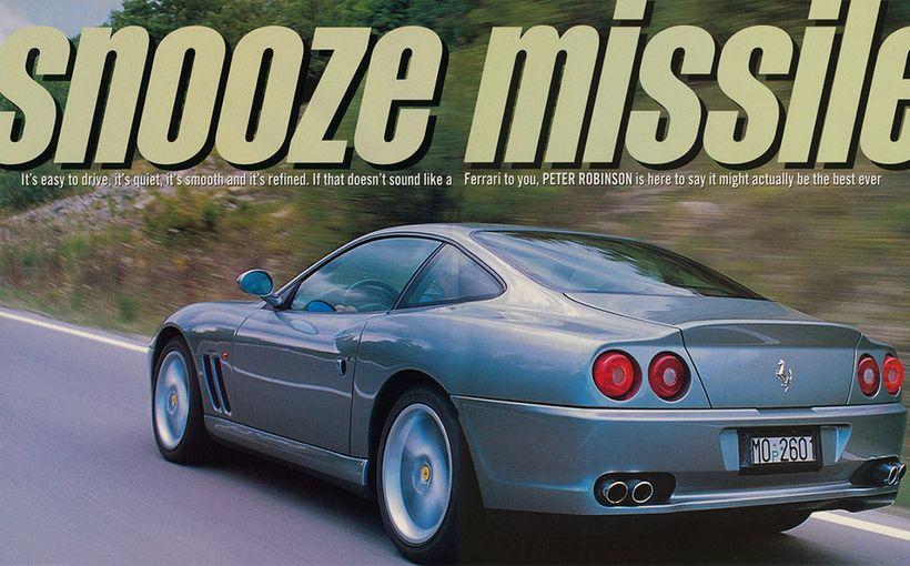 Ferrari 550 Maranello: Snooze Missile
