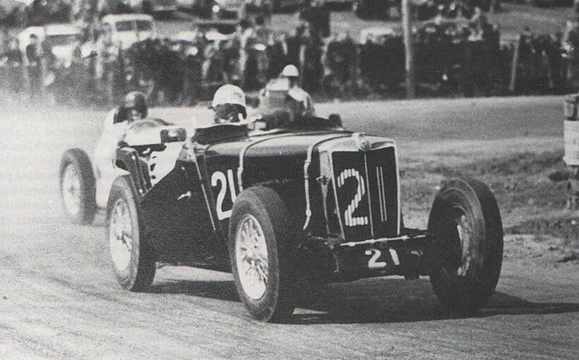 MG TC-TD-TF: how a tiny British sports car won the first post-war AGP