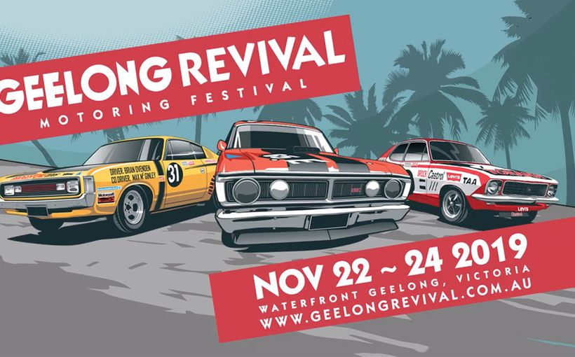 Geelong Revival Motoring Festival 2019