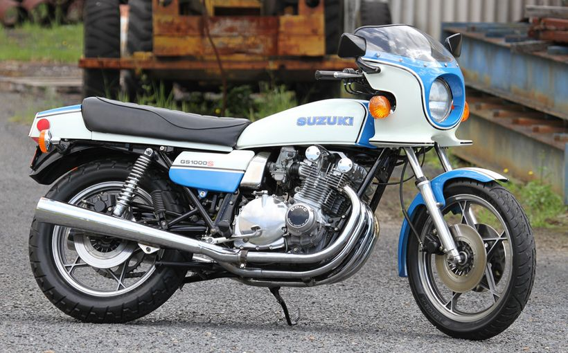 Suzuki GS1000: Too Cooley