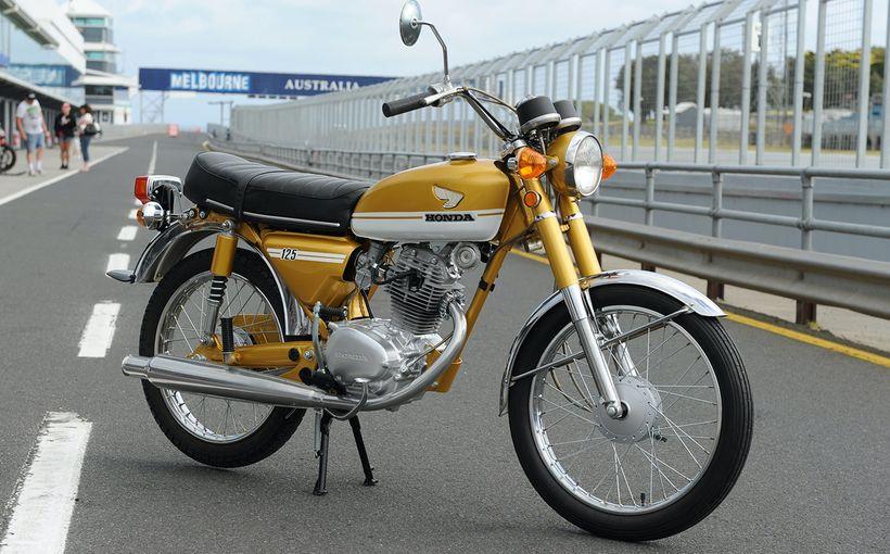 1971 HONDA CB125S: Small Wonder