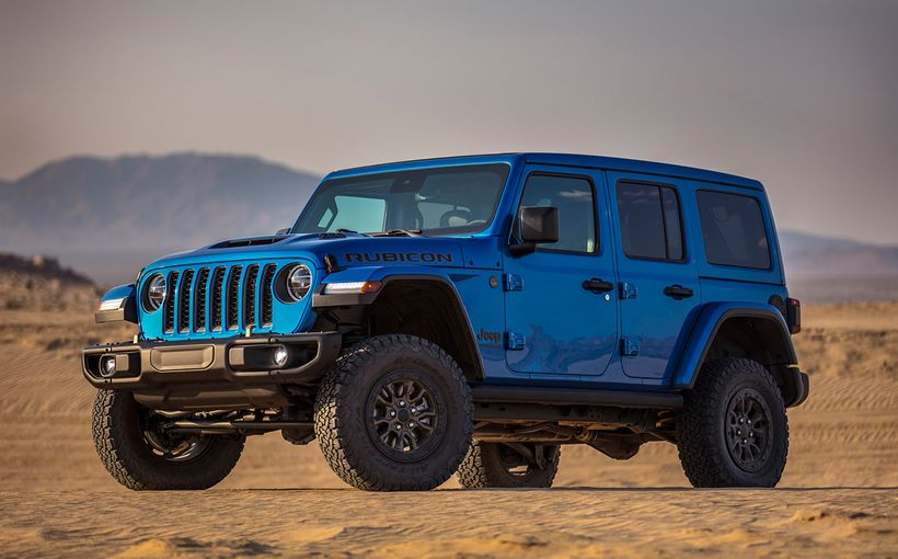 Jeep wasted no time in taking its Wrangler Rubicon 392 Concept into production