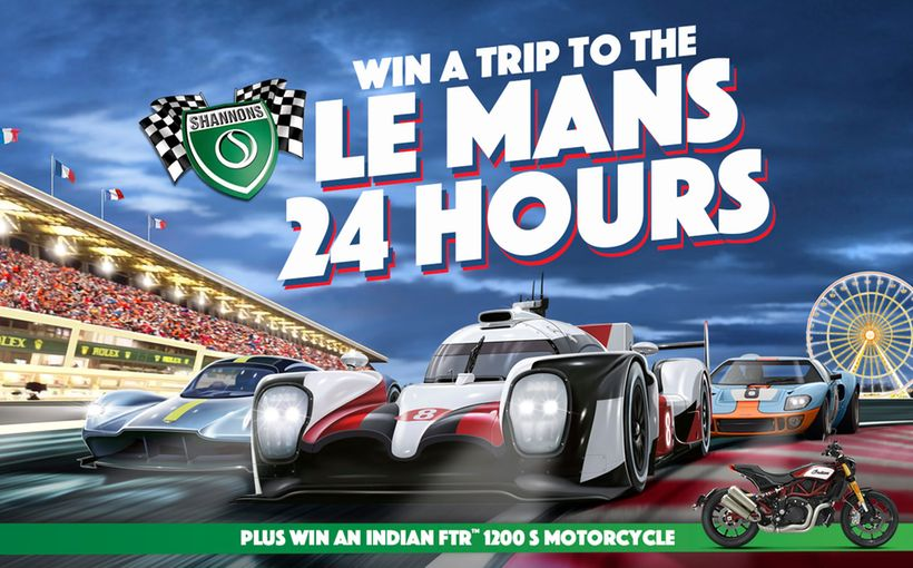 Win a Trip to the Le Mans 24 Hours! Plus an Indian FTR 1200 S Motorcycle