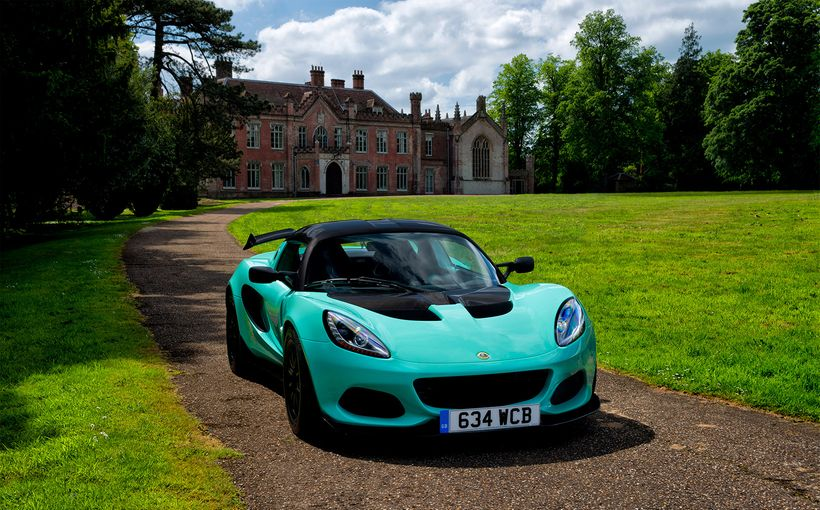 Less is more for the new bantamweight Lotus Elise Cup 250
