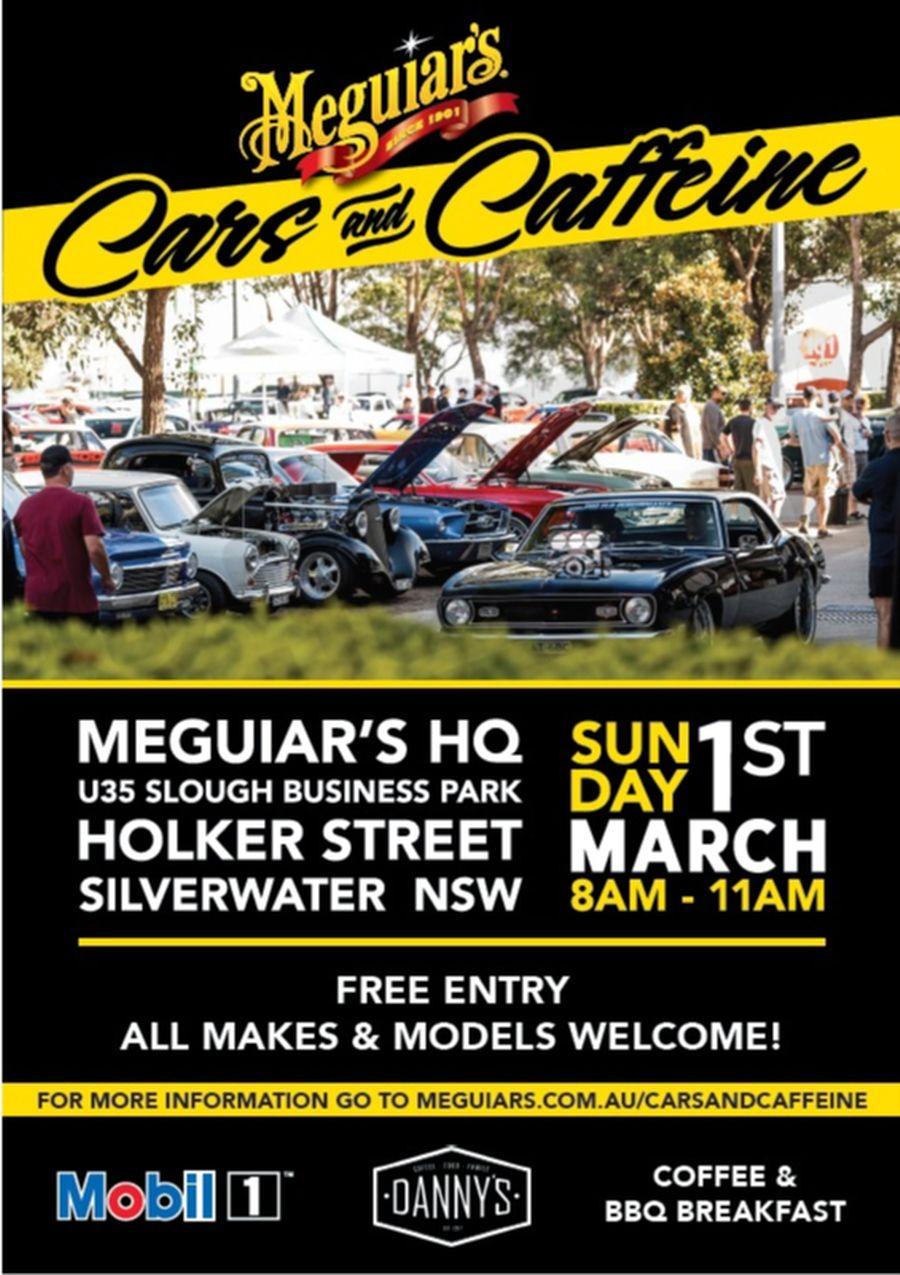 Meguires Cars n Caffeine - Shannons Club