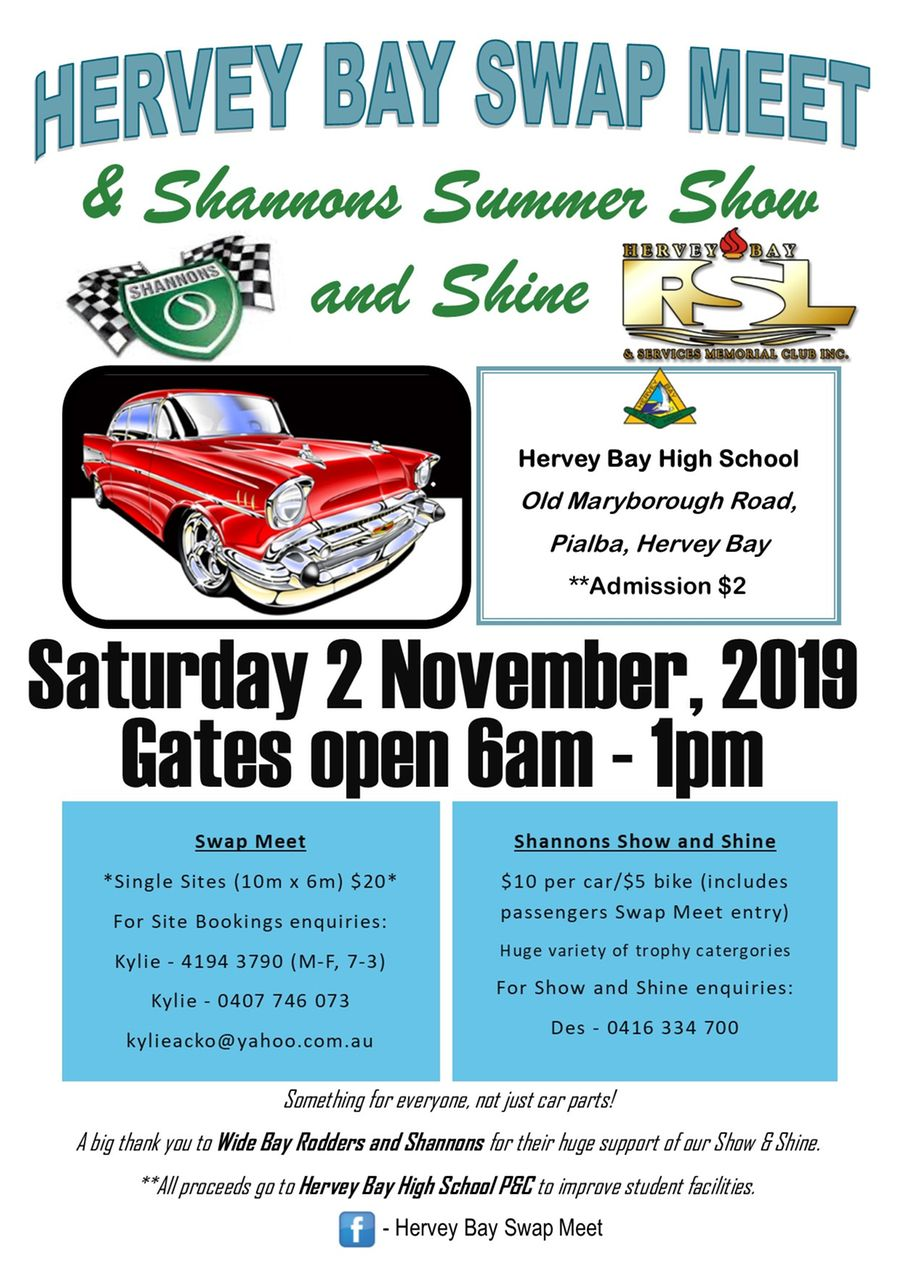 Hervey Bay Swap Meet