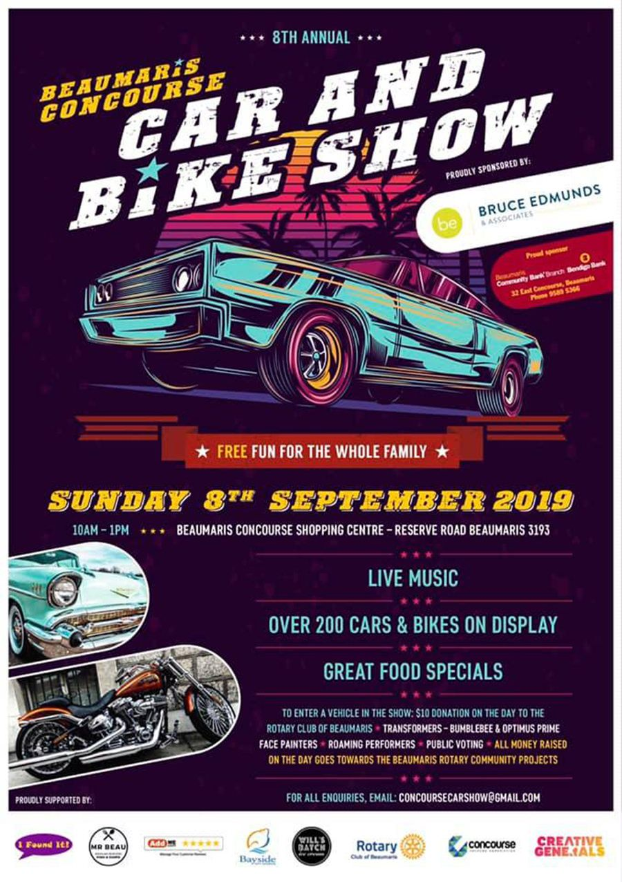 Beaumaris Car & Bike Show