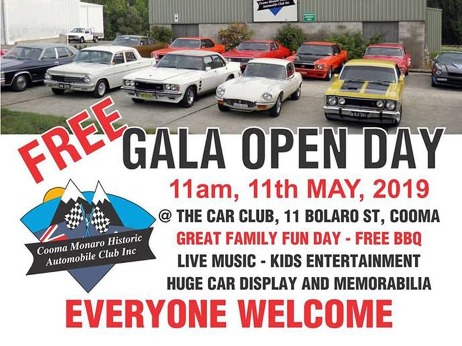 Cooma Car Club 20th Anniversary Open Day