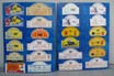 Plates x 24 -  Assorted European Rally Plates Mounted on Boards