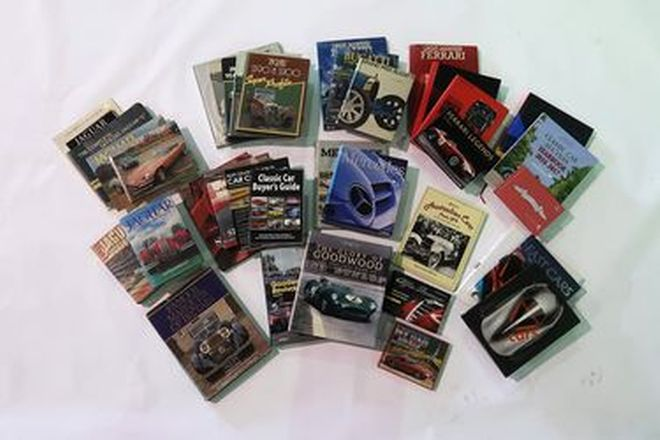 Books - 36 x Collection of Assorted Titles + Goodwood Road Racing Club Literature