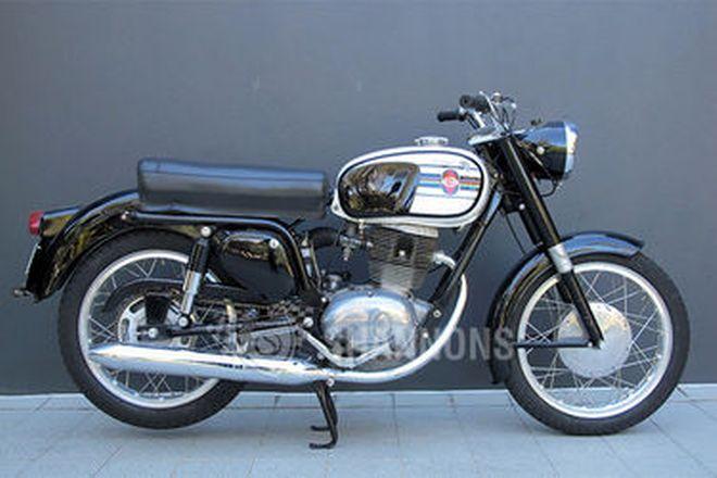 Gilera 202 Super Motorcycle