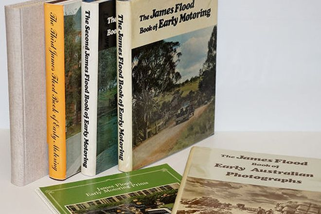 Motoring Books - Collection of 6 James Flood
