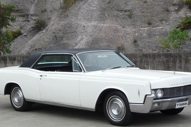 Lincoln Continental Coupe (LHD)