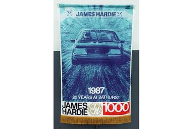 Banner - 20 Years of Bathurst James Hardie 1000 (122 x 78cm)