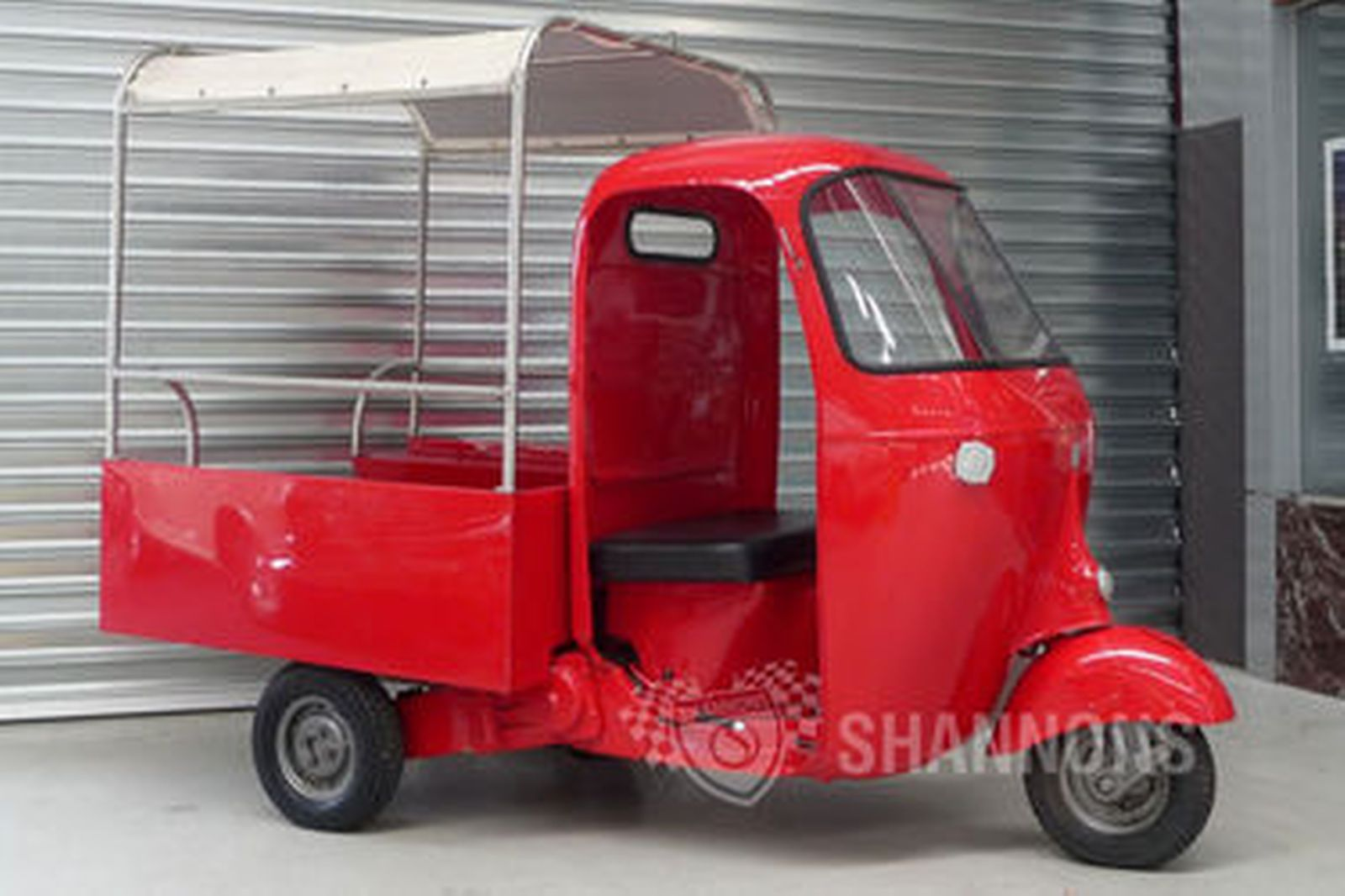 sold: vespa ape 150cc 3-wheeler pick up (ex post bike) auctions