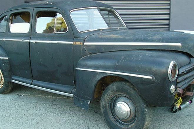 Ford Super Deluxe 'Eight' Sedan (Project)