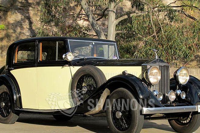 Rolls-Royce 20/25 HJ.Mulliner Saloon
