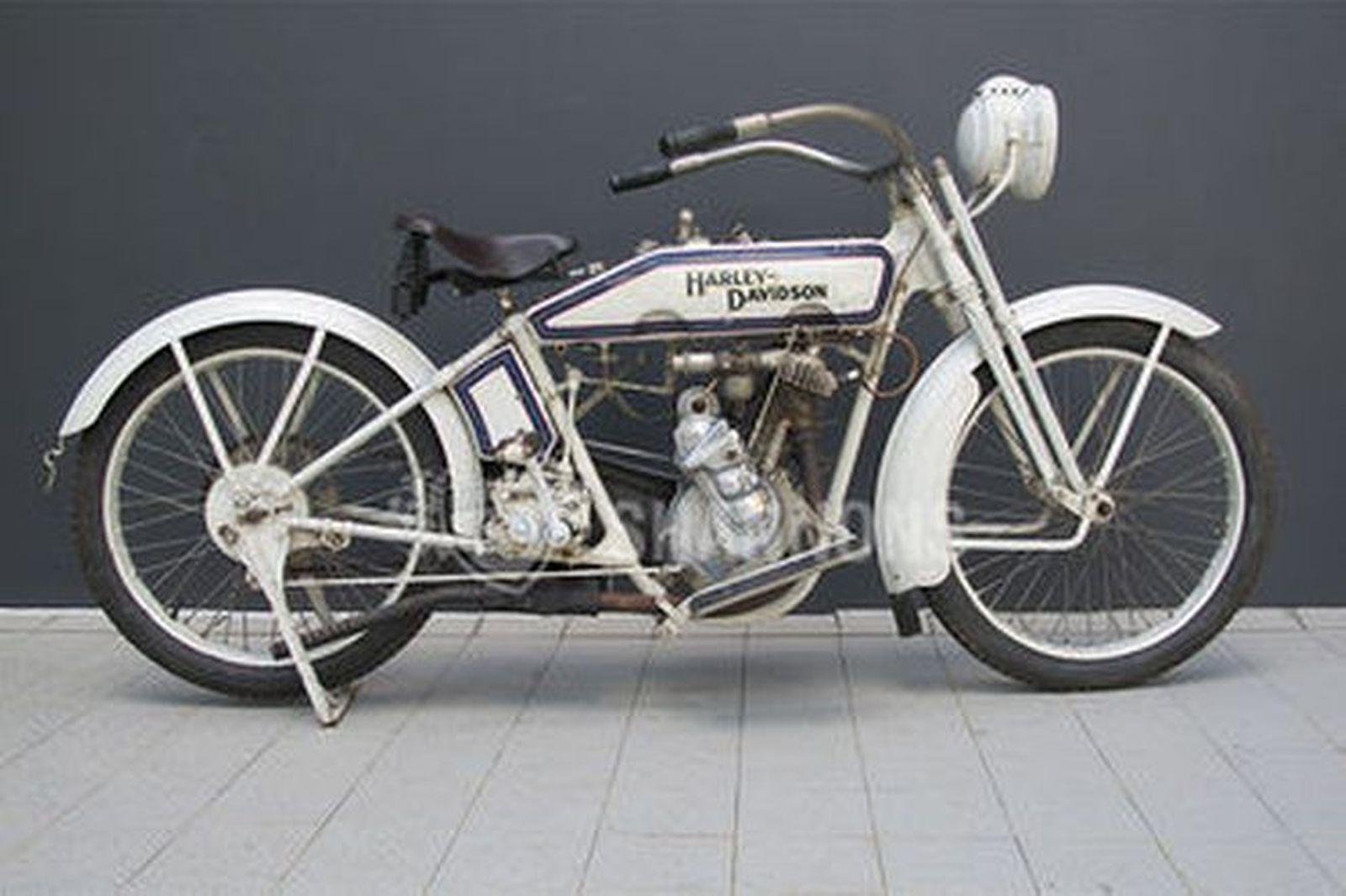 Harley davidson 16c single 35ci 575cc motorcycle auctions lot ah shannons - Sigle harley davidson ...