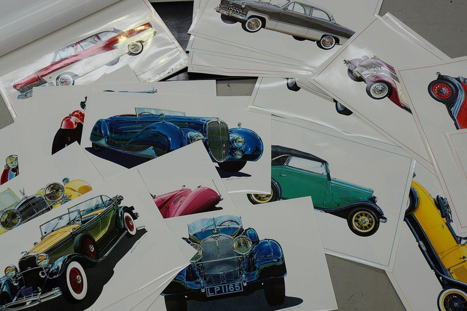 Prints  - 12 x Prints & 1990 Calendar