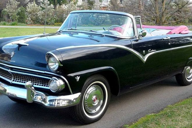 Ford Fairlane Sunliner Convertible (LHD)