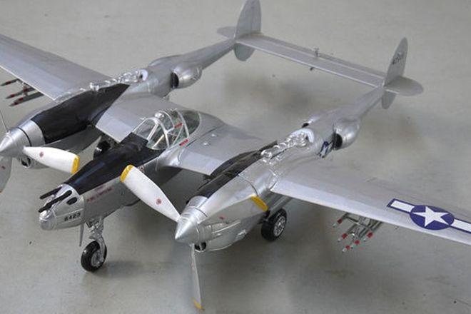 Model Plane - Lockheed P38 Lightning (101cm span)