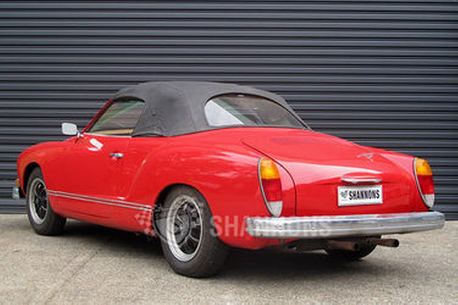sold volkswagen karmann ghia convertible rhd auctions lot 2 shannons. Black Bedroom Furniture Sets. Home Design Ideas