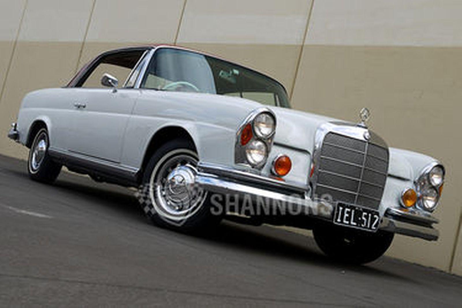 mercedes benz 220se coupe auctions lot 4 shannons. Black Bedroom Furniture Sets. Home Design Ideas