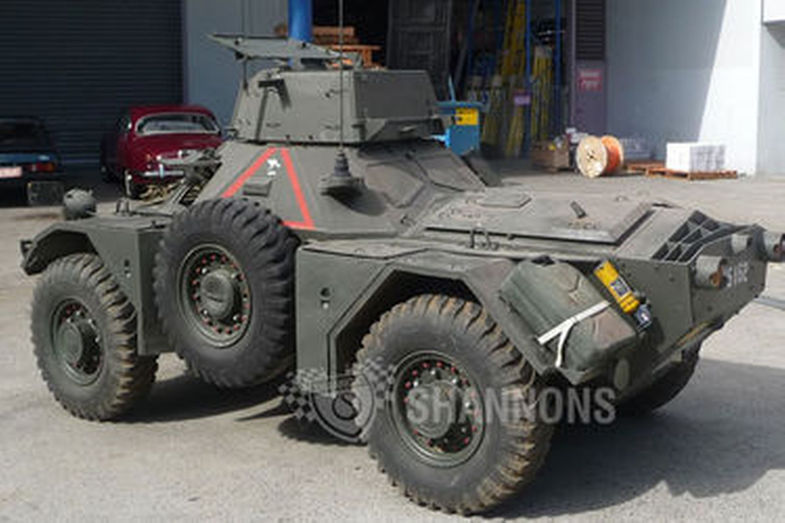 Armored Vehicles For Sale >> Sold: Ferret Scout Mk 2 Military Vehicle Auctions - Lot 9 - Shannons