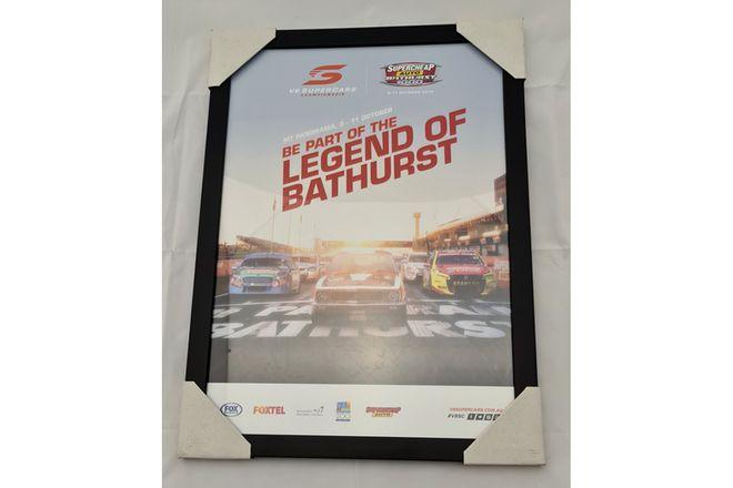 'Legend of Bathurst' Framed Poster (468W x 642H)
