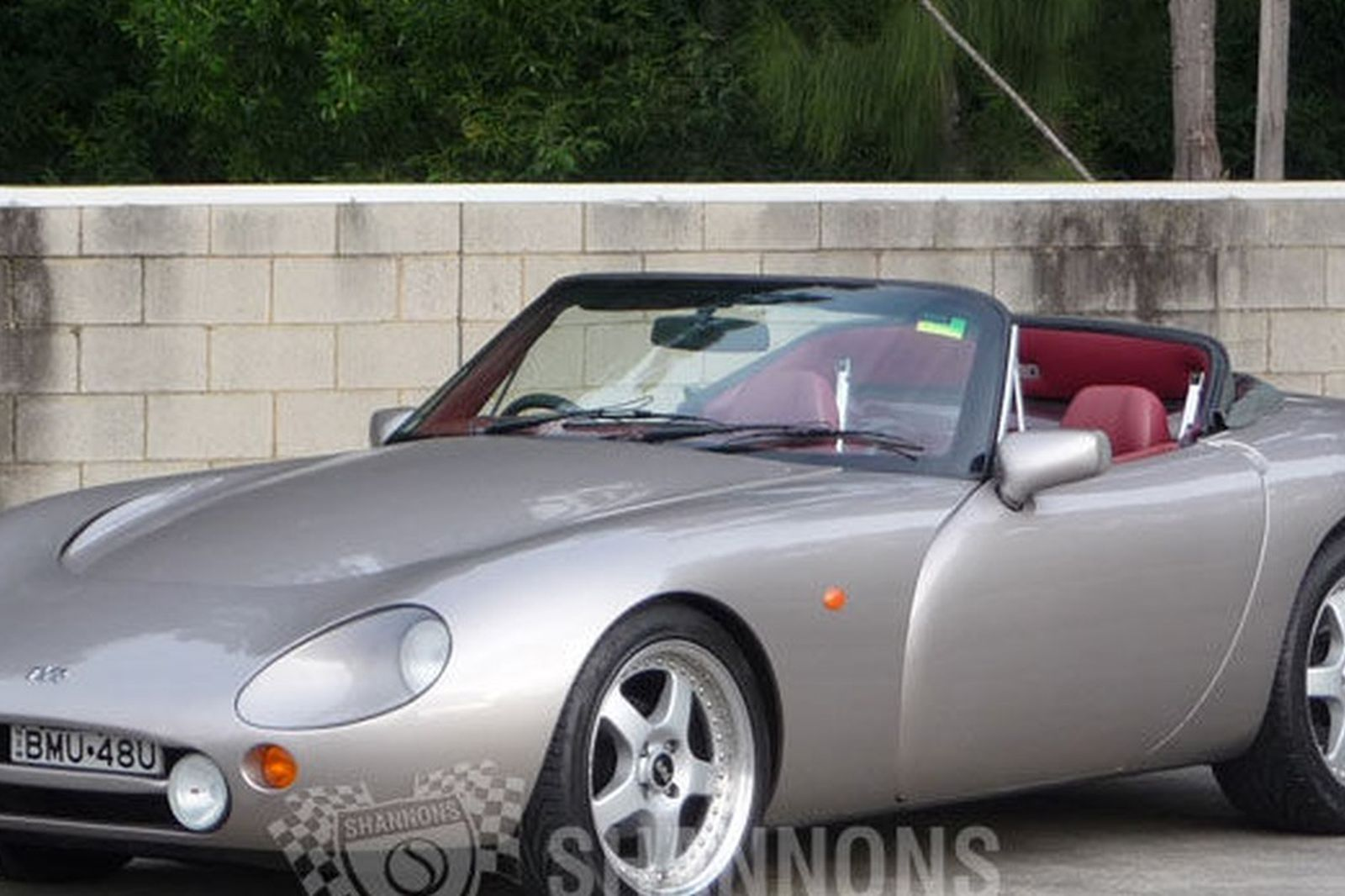 sold tvr griffith 500s hp convertible auctions lot 28 shannons. Black Bedroom Furniture Sets. Home Design Ideas