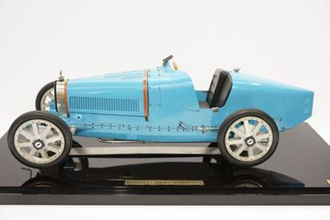Model Cars - Vichy Bugatti Type 35 Hand Built - From the 'Ian Cummins Collection'