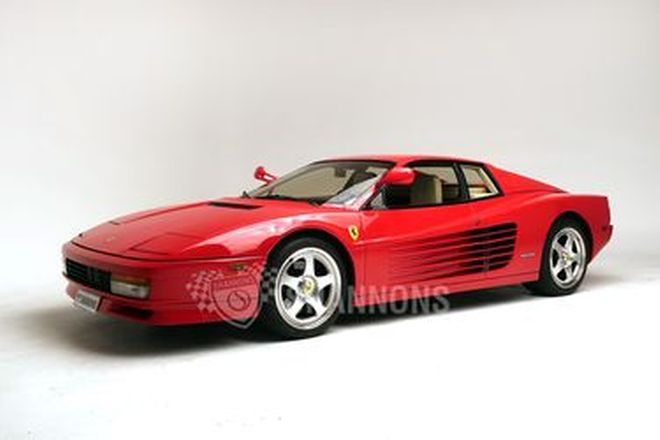 Ferrari Testarossa Coupe (LHD)