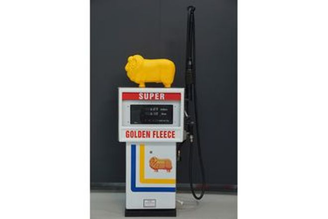Petrol Pump - Techno in Golden Fleece Livery