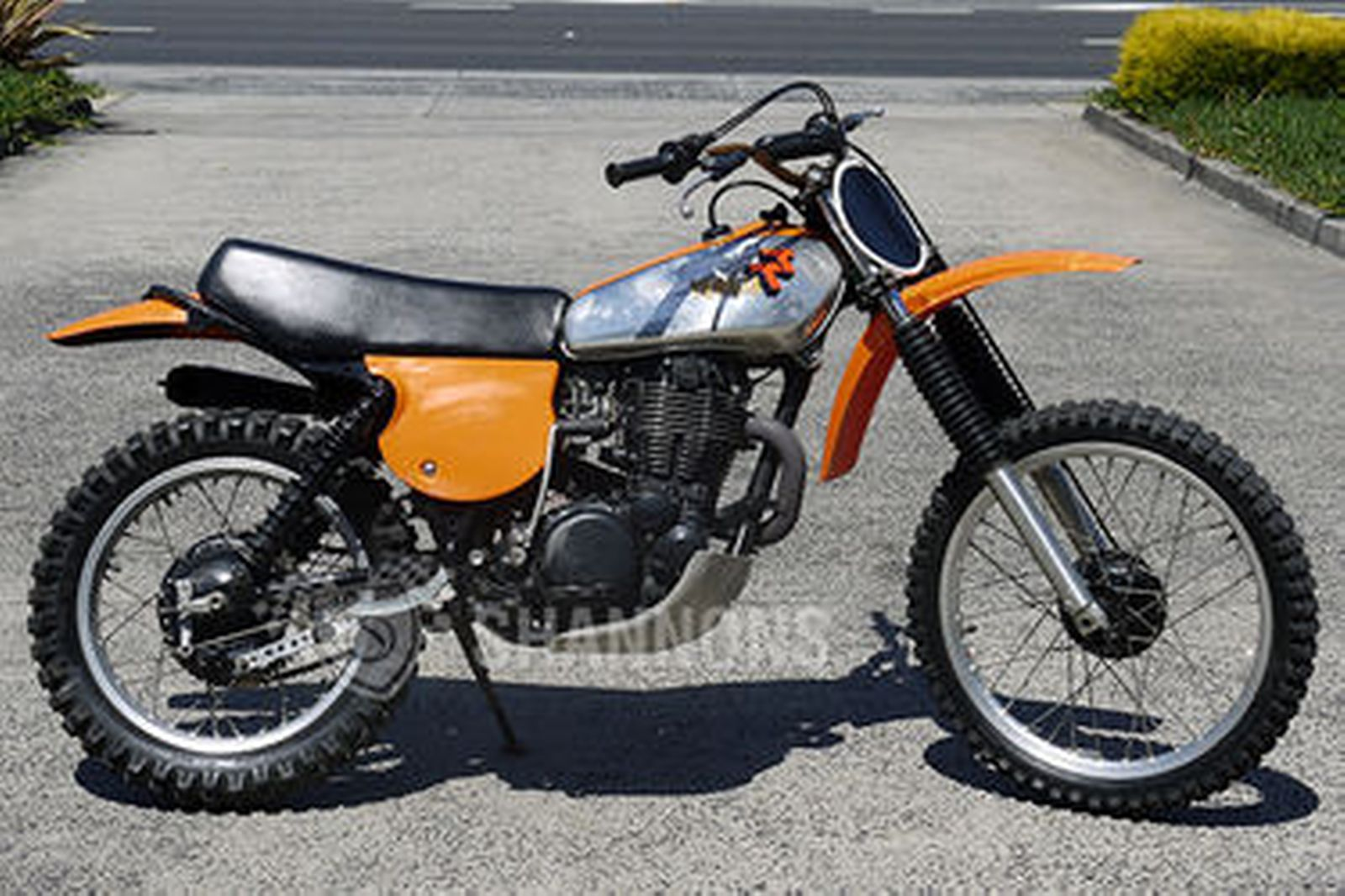 yamaha tt500 trail bike auctions lot 34 shannons. Black Bedroom Furniture Sets. Home Design Ideas