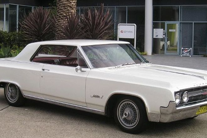 Oldsmobile Jetstar 1 Sports Coupe (RHD)