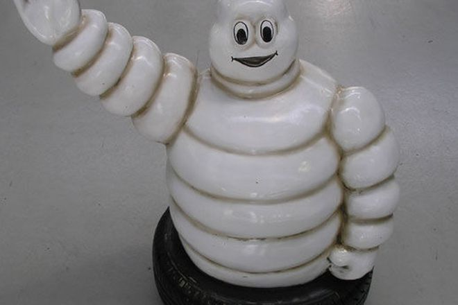 Figurine - Large Michelin Man in Tyre