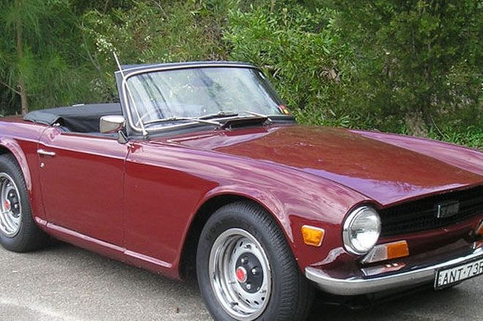 Triumph Tr6 Roadster Auctions Lot 4 Shannons
