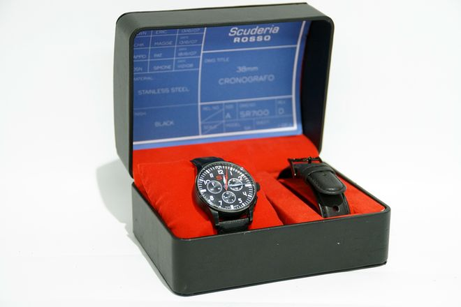 Scuderia Rosso SR Watch - Black