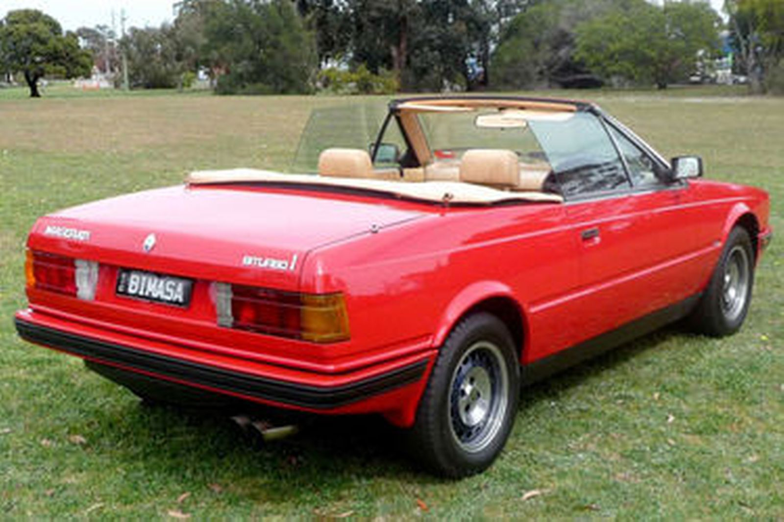 Maserati Bi Turbo Spyder on Maserati Biturbo Spyder