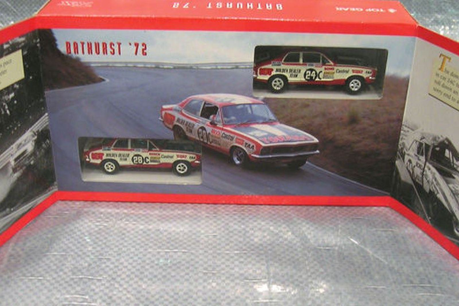 2 x Trax Models - GTR-XU1 LJ Torana Racing Set (1:43 Scale)