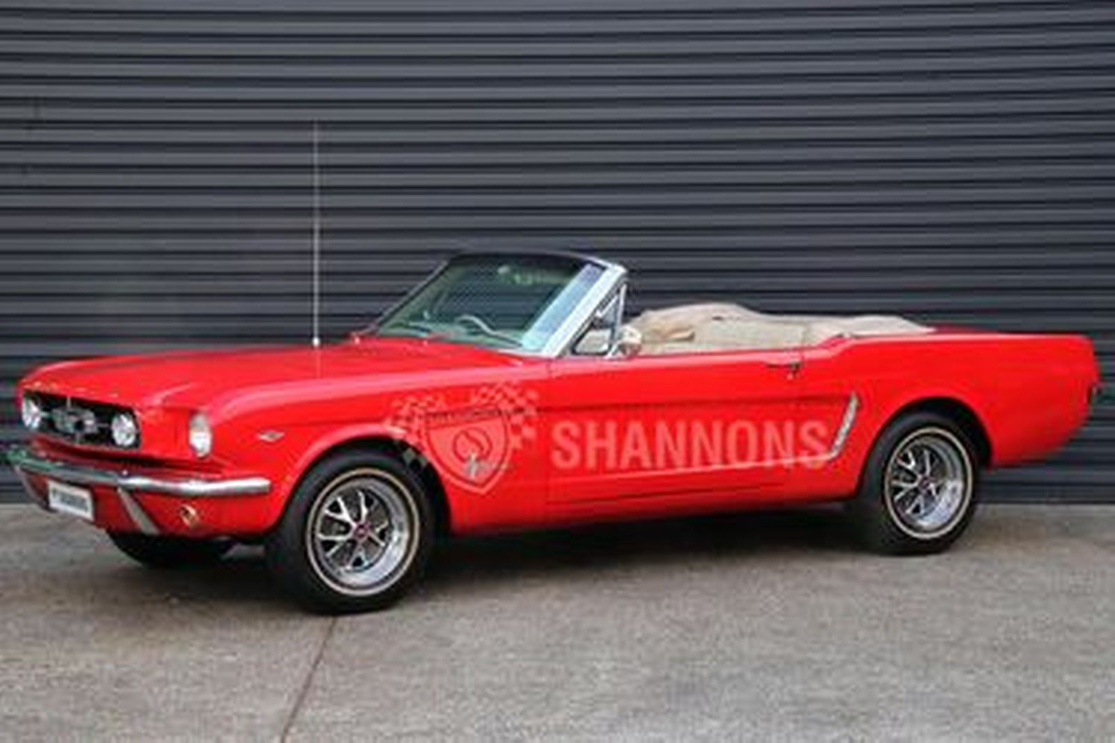 Sold Ford Mustang Convertible Rhd Auctions Lot 57 Shannons