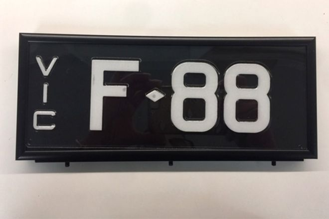 Victorian Signature Series Plate 'F.88'