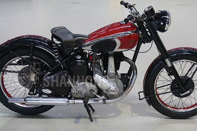 BSA B33 500cc Motorcycle