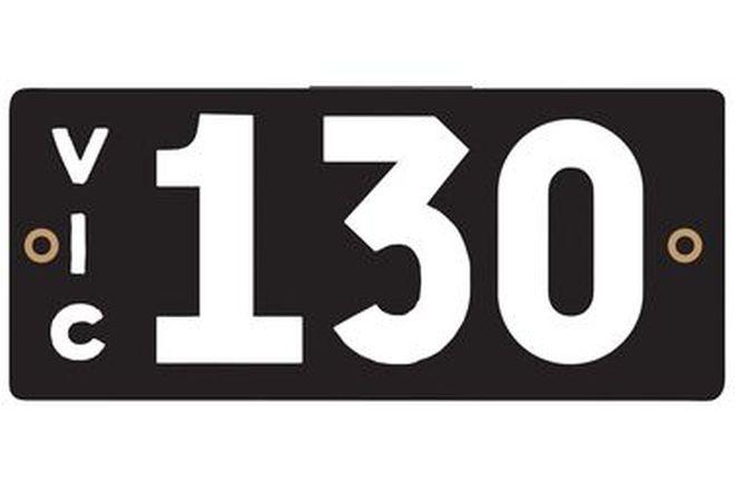 Victorian Heritage Plate '130'