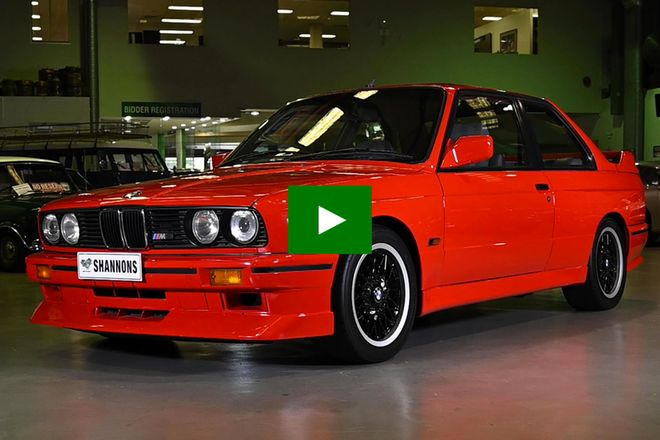Bmw E30 M3 Evolution Ii Coupe Rhd Auctions Lot 62 Shannons