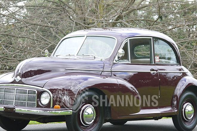 Morris Minor 'Low Light' 2 Door Sedan
