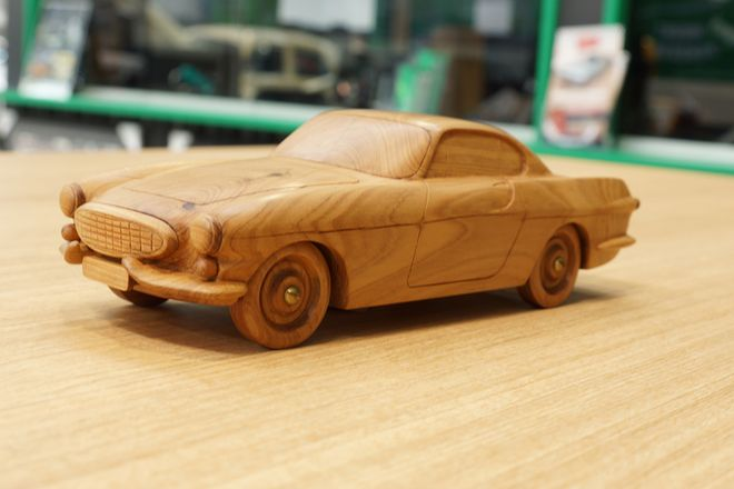 Wooden Hand Made Model Cars