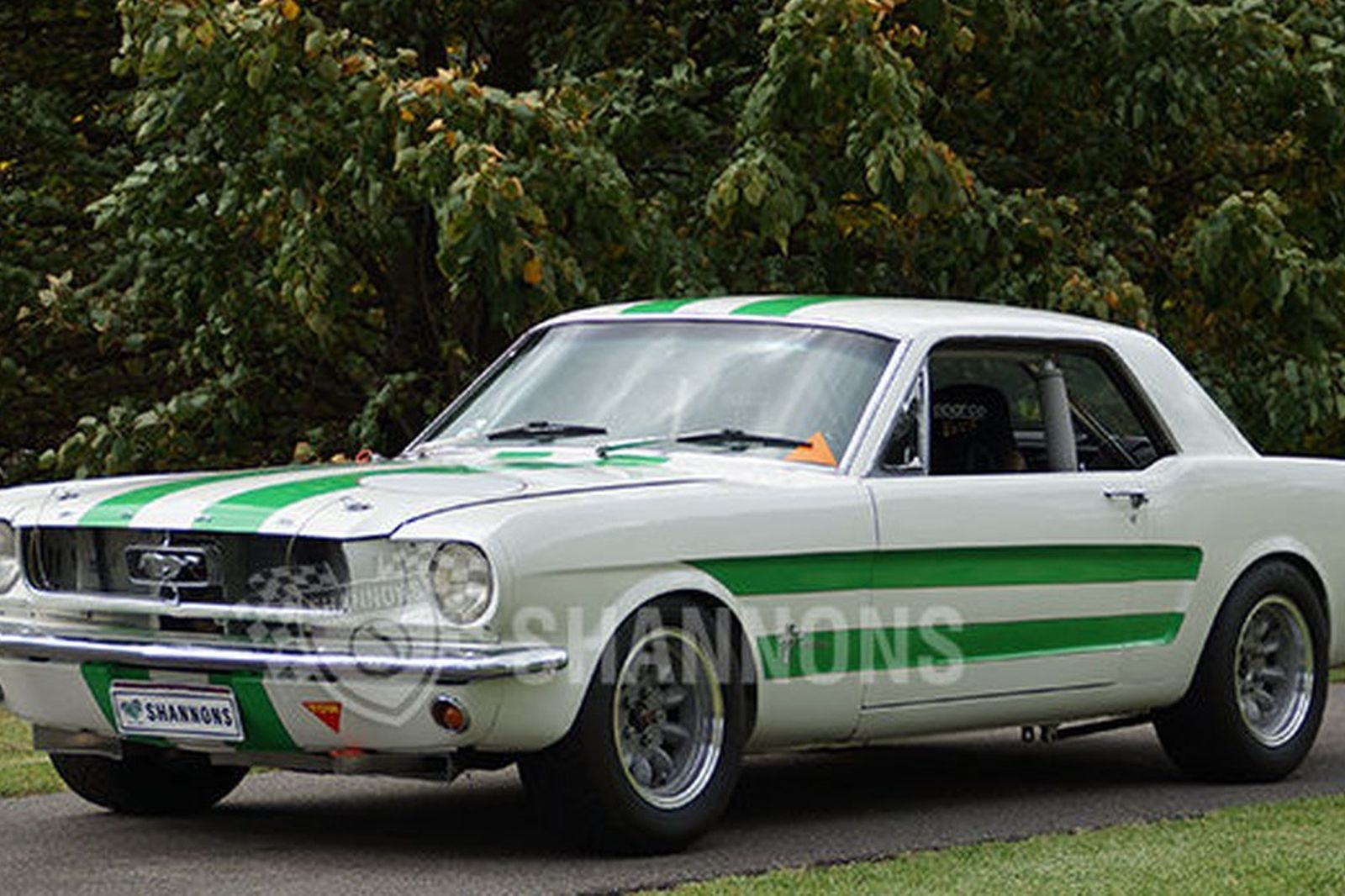 Ford mustang group nc tarmac rally prepared coupe rhd