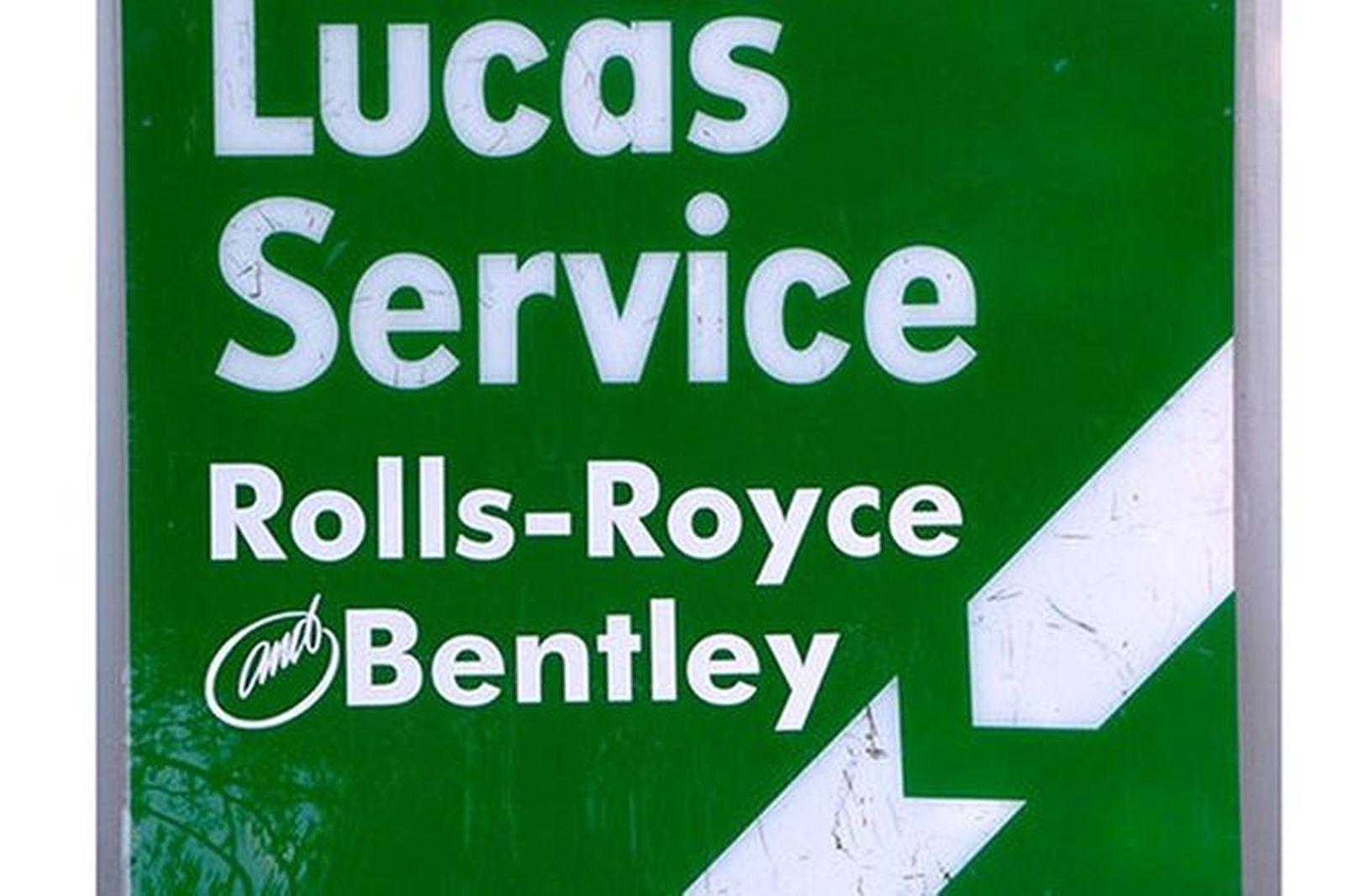 Perspex Signs x 2 - Lucas Service (120 x 120cm)