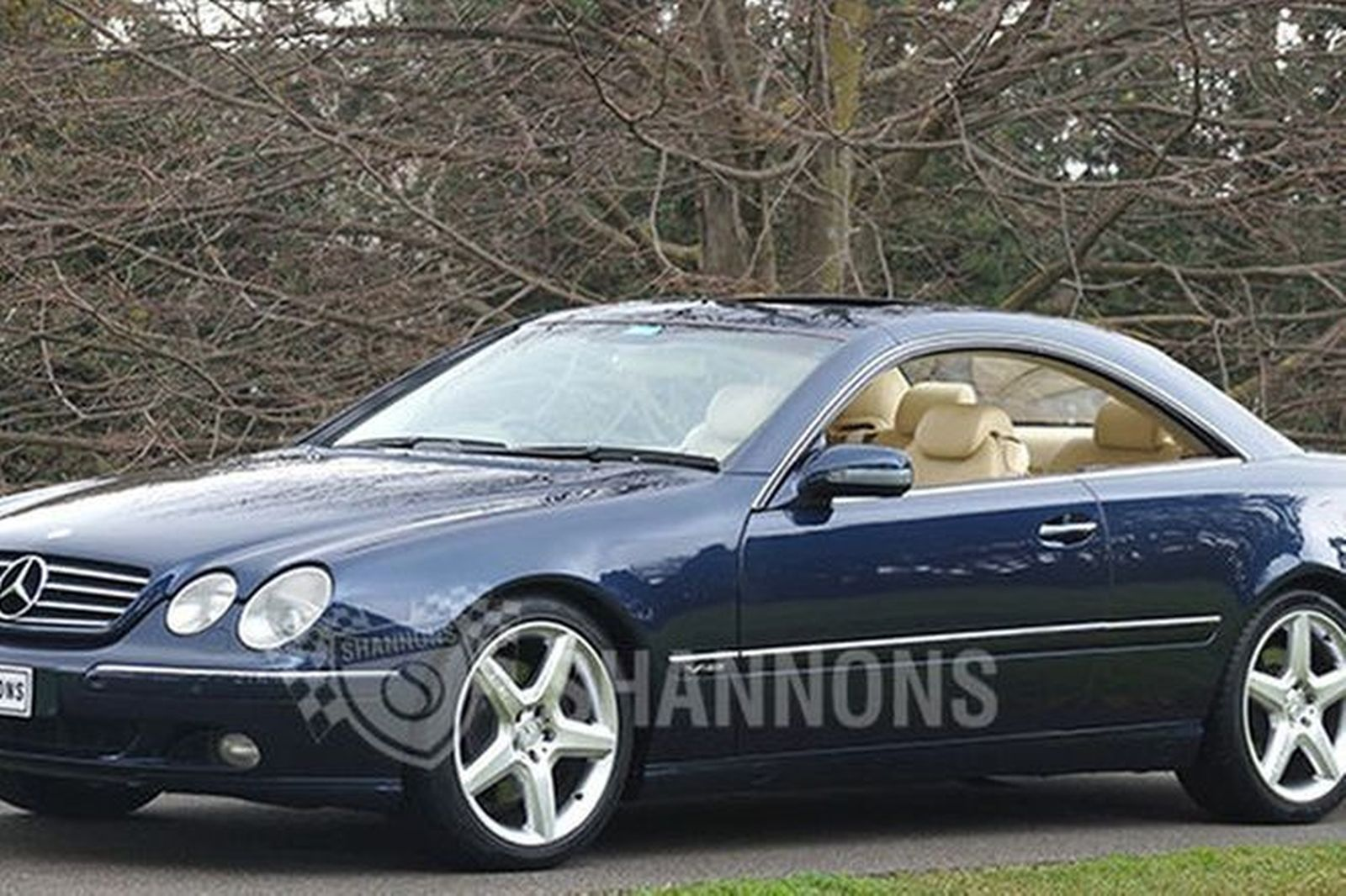 sold mercedes benz cl600 coupe auctions lot 22 shannons. Black Bedroom Furniture Sets. Home Design Ideas